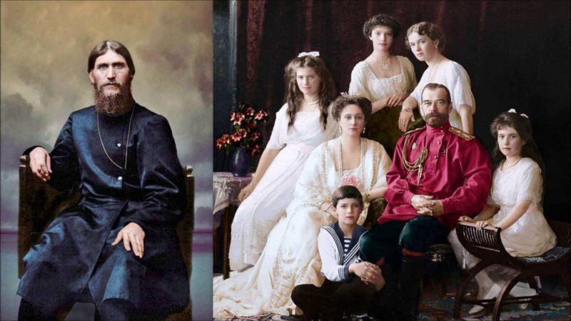 Rasputin-i-tsarskaya-semya