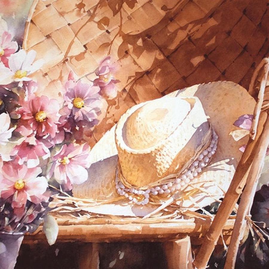 Солнечные акварельные картины. Художник Кристиан Гранью 14