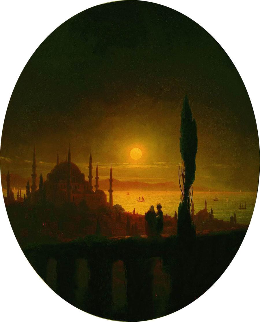 Lunnaya-noch-u-vzmorya.-1847