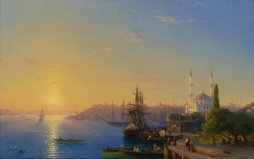 Vid-Konstantinopolya-i-Bosfora.-1856